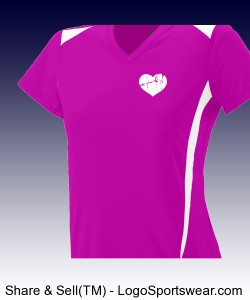 Plain Heart Marathon T Design Zoom